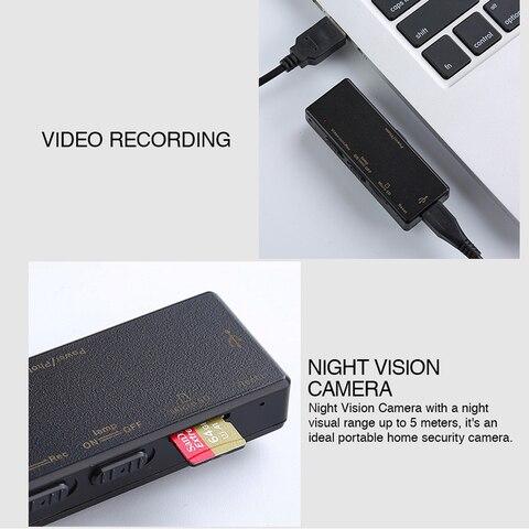 HD 1080P Mini Portable Camera A7 Body DVR Cameras Digital Camcorders Night Vision Loop Recording Dashcam Baby Monitor Karachi