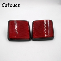 Car Rear Bumper Reflector Warning Light For Ford Escape Kuga 2005 2006 2007