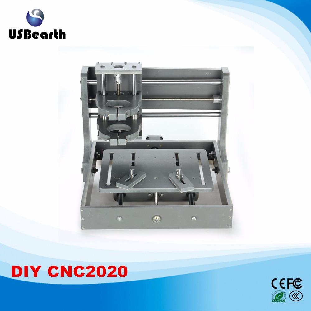 2017 DIY CNC frame 2020 with motor cnc Engraving Drilling and Milling Machine eru free tax 4pcs diy cnc router 2020 frame with motor engraving drilling and milling machine
