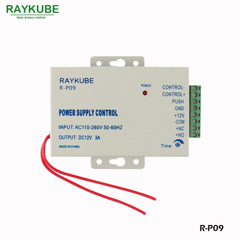 RAYKUBE Kapı Erişim Kontrol Sistemi Seti 180 KG / 280 KG Elektrikli - Güvenlik ve Koruma - Fotoğraf 4
