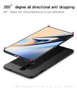 Image 4 - Voor Oneplus 7 Pro Case Silm Luxe Ultradunne Smooth Hard PC Telefoon Case Voor Oneplus 7 Pro Terug cover Voor Oneplus 7 Pro Fundas