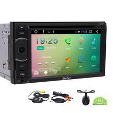 """6.2 """"android6. 0 автомобиль GPS навигации четырехъядерный 2DIN автомобильный DVD Поддержка FM/AM RDS Радио, Wi-Fi, BT, автомобилей DVD CD-плееры + Беспроводной сзади Камера"""