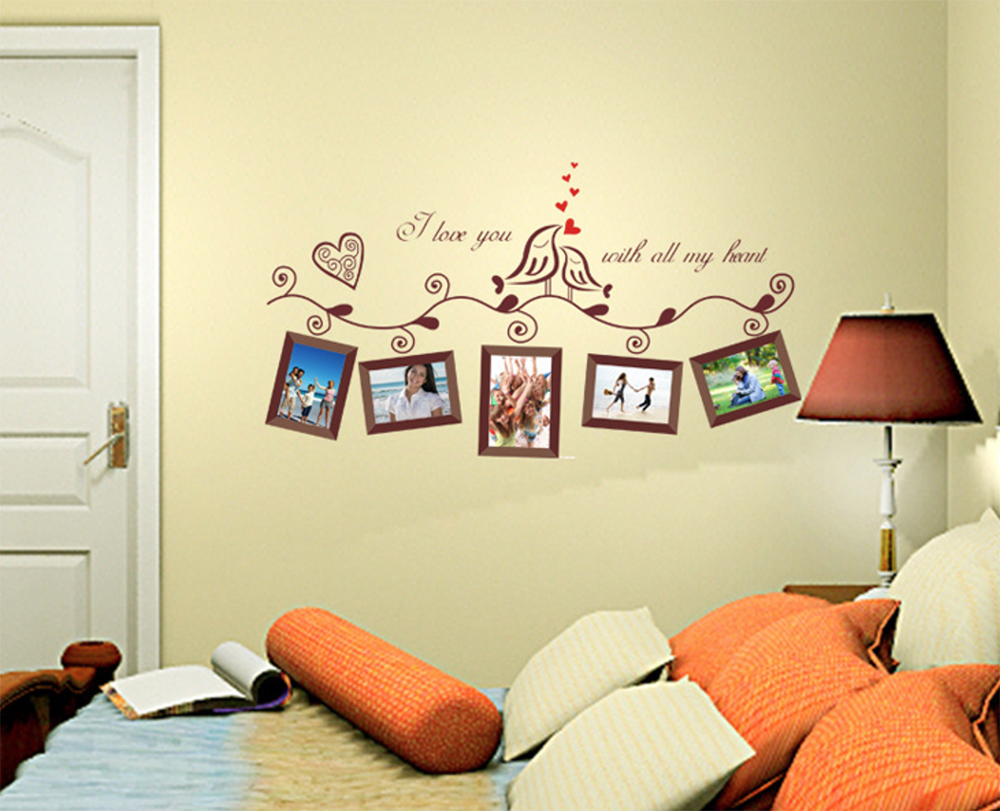 Creative Photo Frame Wall Stickers for Home Decor/Wall Decor Sofa ...