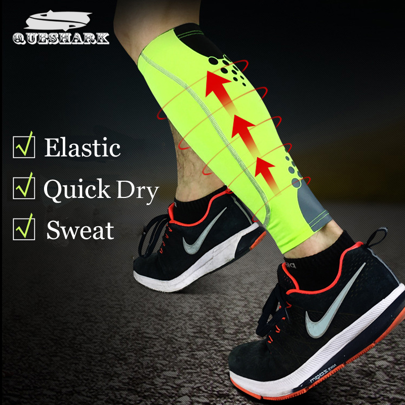 1Pcs Base Layer Compression Leg Warmers Shin Guard Cycling Leg Sleeve Men Women Running Football Basketball Sports Calf Support