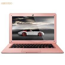 Amoudo 4 ГБ RAM + 240 ГБ SSD + 500 ГБ HDD 14 дюйма 1920×1080 FHD Windows 7/10 система Двойной Диски Quad Core Ультратонкий Ноутбук Ноутбук