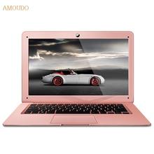 Amoudo 4GB RAM+240GB SSD+500GB HDD 14inch 1920×1080 FHD Windows 7/10 System Dual Disks Quad Core Ultraslim Laptop Notebook