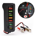 Car Digital Battery Tester Auto Alternator Tester with 6-LED Lights Display Car Styling Battery Diagnostic Tool