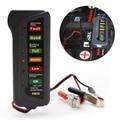Testador de Bateria Digital de carro Auto Testador Alternador com Luzes 6-display led Car Styling Ferramenta de Diagnóstico Da Bateria