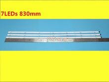Tira 7 da luz do fundo do diodo emissor de luz para lg innotek 17y 43inch-a-type 43uj6307 43uj634v 43lj594v hc430