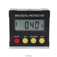 360 grad Digitale Winkelmesser Neigungs Elektronische Ebene Box Magnetische Basis Mess Werkzeuge-in Winkelmesser aus Werkzeug bei
