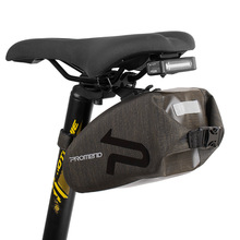 PROMEND Waterproof Nylon Bike Saddle Bag Bicycle Bag Back Rear Seat Bags Pouch MTB Road Cycling Tail Bag Cycle Accessories bike saddle bag bike retro bags bicycle tail bag pu wood back seat tail pouch personalized cycling equipment bicycle accessories