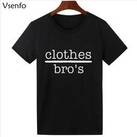 Vsenfo Summer T Shirt Men Women One Tree Hill T Shirts Letters Printed Clothes Bro S