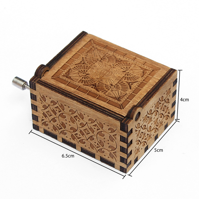 Wooden Music Box Game Of Thrones 2