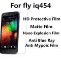 3pcs For Fly iq454 Soft Nano Explosion New Nano-tech Film,Anti-fatigue Anti Blue Light,High Clear,Matte Screen Film Best Touch