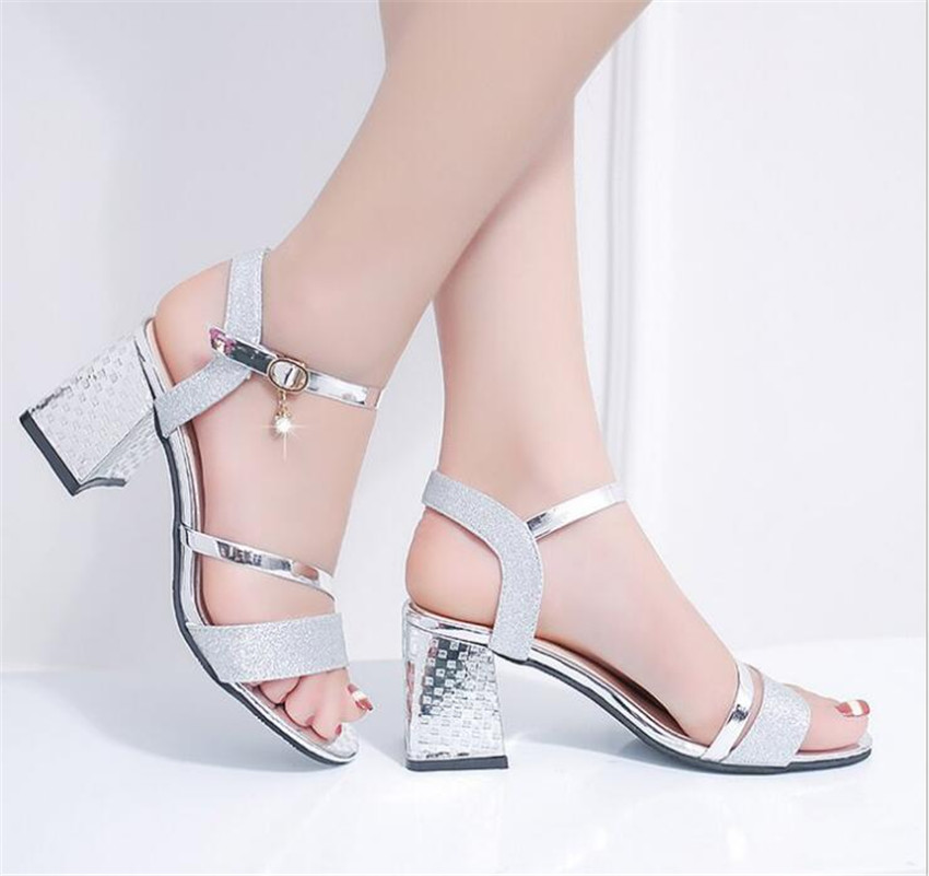 ZOUDKY 2018 Summer New fashion sandals with a pair of thick and sexy hollow toes shoes