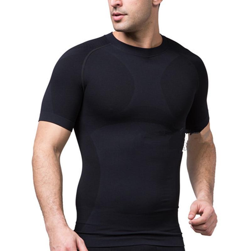 Geschickt 2019 Sport Männer T-shirt T-shirt Kurzarm Kompression Shirt Gym T-shirt Fitness Männer Der Hemd T-shirts