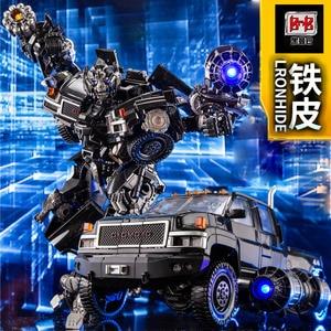 Image 2 - Transformation Black Mamba over size metal part MPM06 ls09 ls 09 Ironhide figure toy
