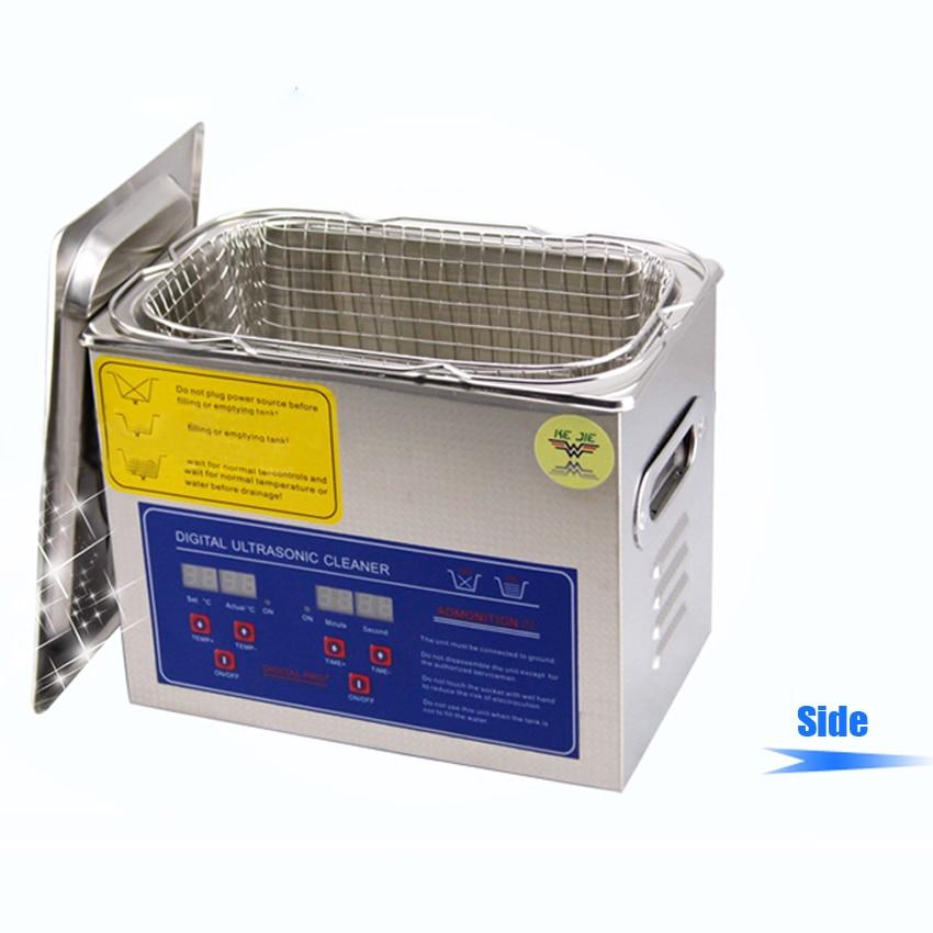 1PC dunia AC110V / 220V 120W pembersih ultrasonik digital 3L PS-20A - Perkakas rumah - Foto 3
