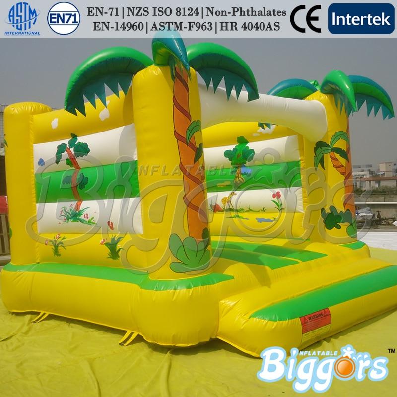 Jual panas Rumah Bouncing Inflatable Jumper Bouncer Dengan Harga - Hiburan dan olahraga luar ruangan - Foto 2