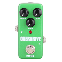 KOKKO FOD3 Mini Pedal Overdrive Pedal Efectos de Guitarra Portatil Alta Calidad Guitar Parts & Accessories
