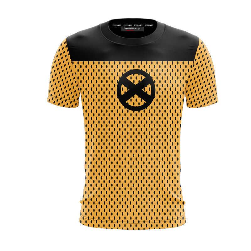 BIANYILONG/Новинка 2019 года, летние повседневные топы с короткими рукавами и футболки для косплея Deadpool 2, унисекс, 3D футболка