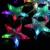 Colorida Decoración De La Lámpara 138 LED de la lámpara 2 m Estrella LED Cortina Ligera de la Secuencia, 8 Modos Que Destellan con Memoria, se utiliza Para La Boda IY310109