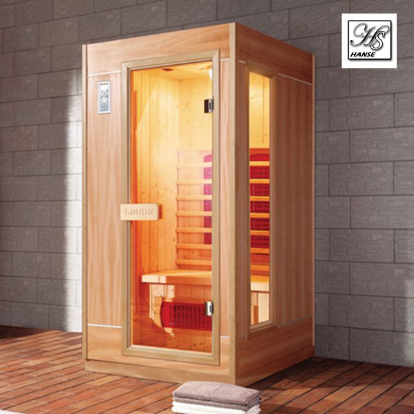 mini satu orang ruang sauna inframerah kecil ruang sauna. Black Bedroom Furniture Sets. Home Design Ideas