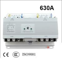 630A 4 Poles 3 Phase Ats 220V 230V 380V 440V Automatic Transfer Switch Without Controller