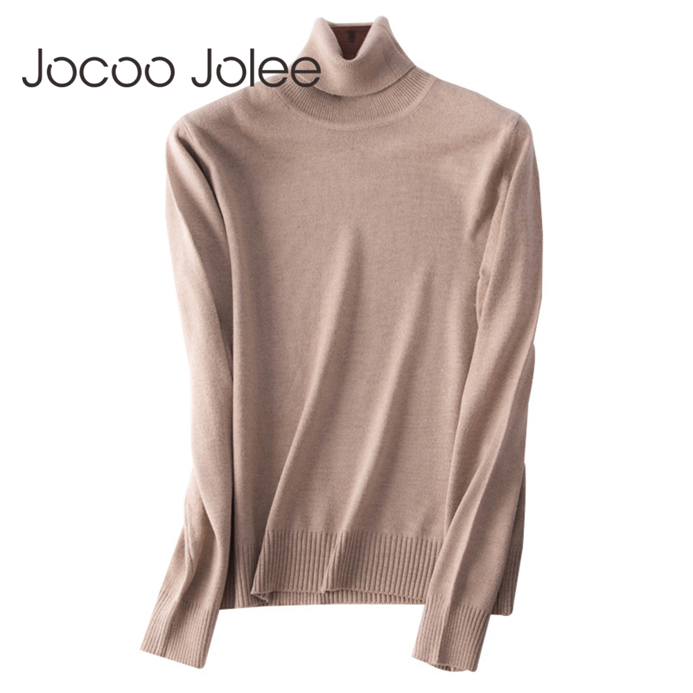 3b63513bd4f Detail Feedback Questions about Jocoo Jolee Cashmere Sweater Women  Turtleneck Plus Size Knitted Winter Warm Sweaters Female Harajuku Pullover  Jumper Pull on ...