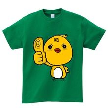 2-14years kids Cartoon Cuckoo print T shirt children Clothes boy girl summer Short Sleeve t shirt Baby O-Neck cute Tops tee  NN стоимость