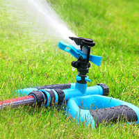 Mobile Garden Lawn Water Saving Nozzle 360 Degrees Automatic Rotating Irrigating Nozzle For Family Garden Park