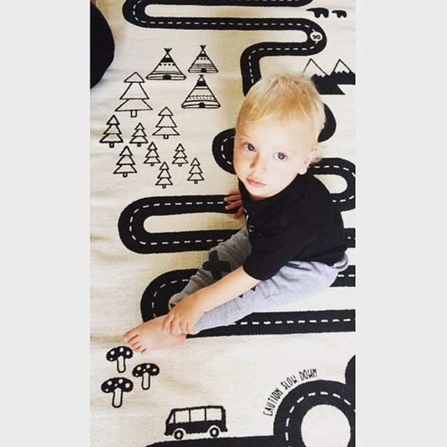 Kids Play Mat / Soft Crawling Rugs – Kids Room Decorations