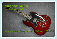Good Cheap Price SG Electrica Guitarra Bigspy Tremolo Solid Mahogany Body Kit Or Unfinished Guitar Available