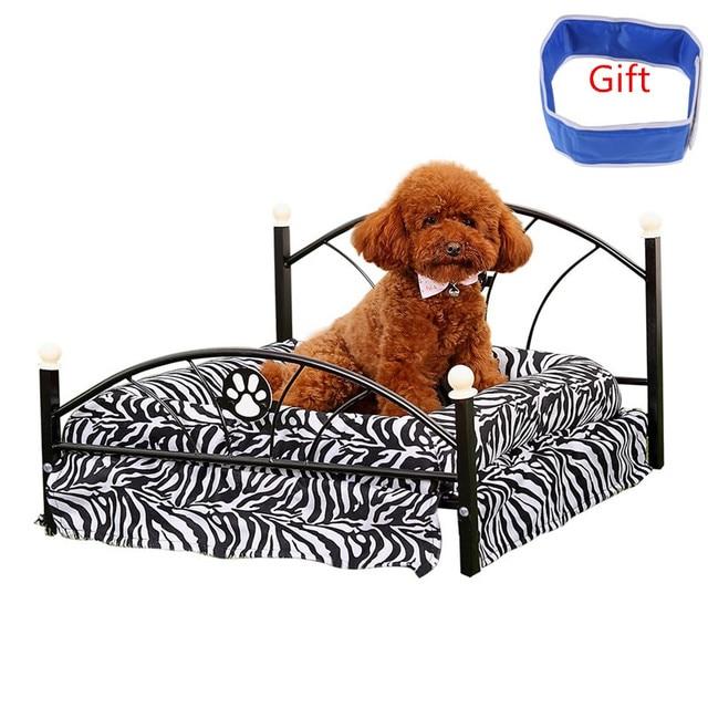 Entrega nacional Metal cama para perros mascotas cachorro cama de ...
