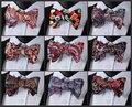 Ua пейсли цветочные хлопок смесь тканые свадьба ну вечеринку смокинг классический формальное самостоятельная галстук