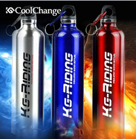 CoolChange 750ML Stainless Steel Leakproof Bicycle Water Bottle MTB Road Bike Kettle Vacuum Structure Thermos Flask