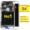 DHL 5pcs alibaba china highscreen clone Mobile Phone LCD For Samsung S4 I9500 Lcd Screen Digitizer +frame Assembly