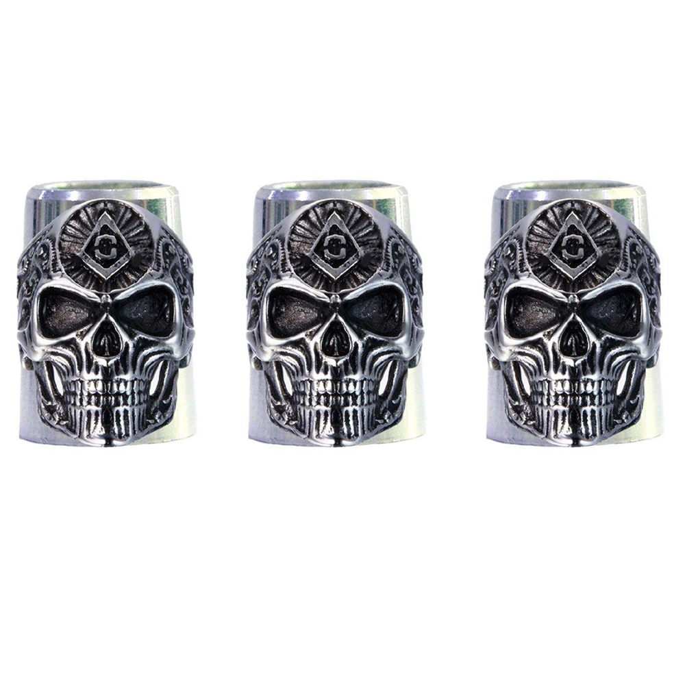 10pcs/pack New Skull Golf Ferrules For 0.335 Irons Aluminium Material Two Sizes Are Optiona