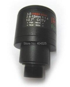 HD 3MP 2.8mm-12mm Manual Focal Zoom MTV 2.8-12mm CCTV Lens 3.0 Mega pixel for Security Camera Lense
