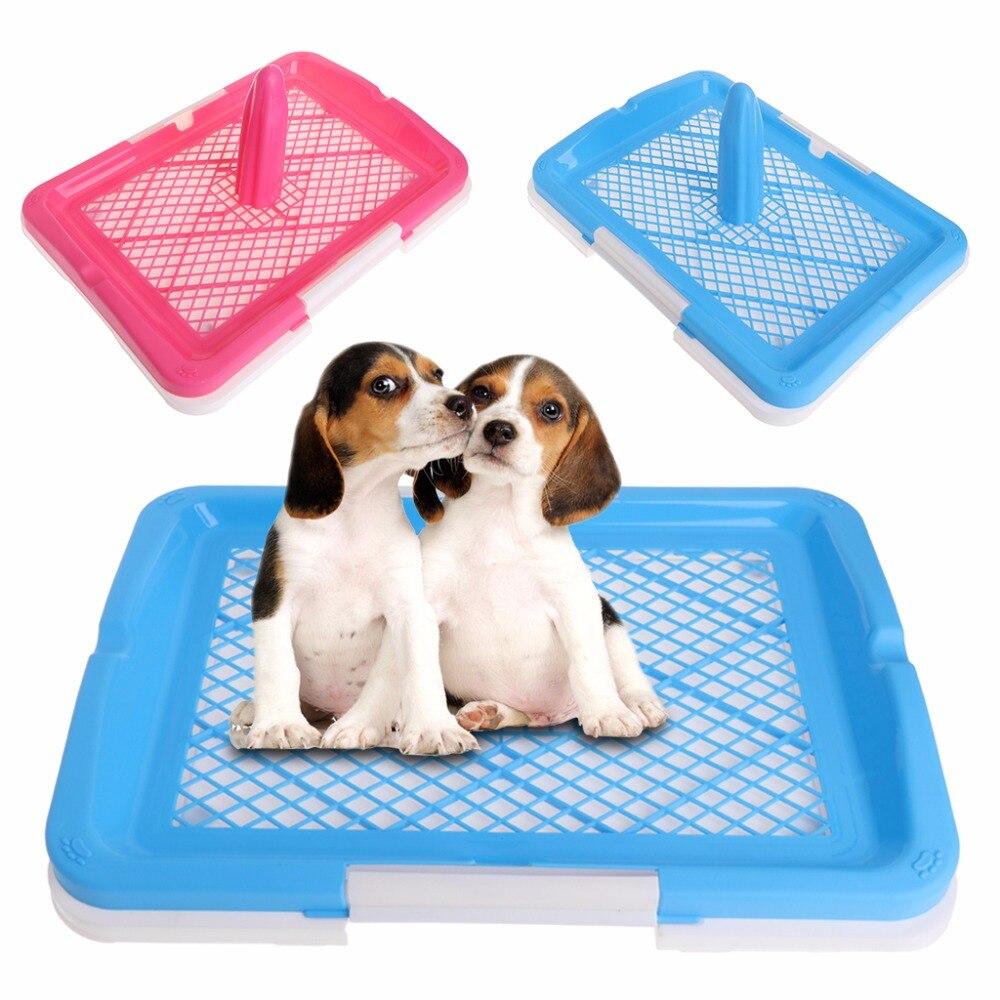 font b Pet b font Dog Mesh Toilet Tray Hygienic WC Training Toilet font b