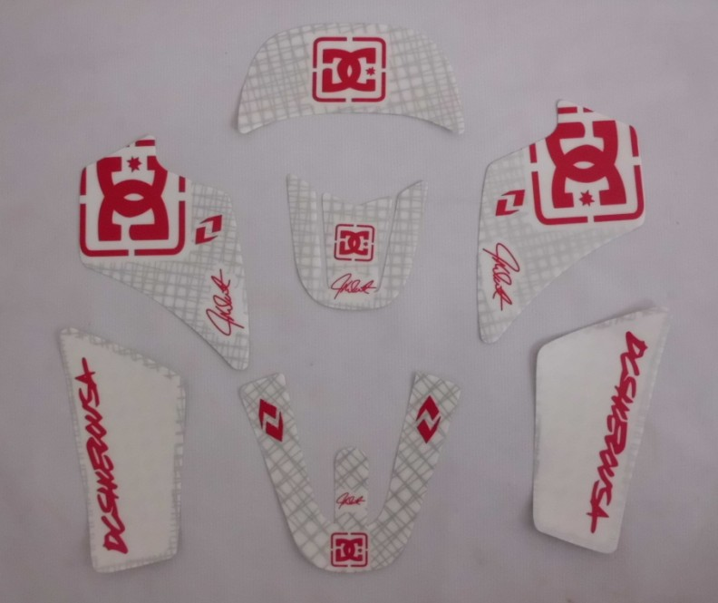 motorcycle motocross scooter pitbike PW <font><b>50</b></font> emblems graphics kits decals <font><b>STICKER</b></font> for <font><b>yamaha</b></font> moto RACING DIRT PIT BIKE parts PW50 image
