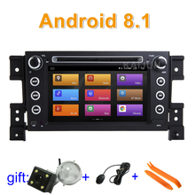 IPS screen Android 8.1 Car DVD multimedia Player Stereo Radio for Suzuki Grand Vitara with wifi BT GPS