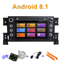 IPS screen Android 8.1 Car DVD multimedia Player Stereo Radio for Suzuki Grand Vitara with wifi BT GPS