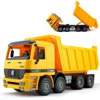 BOHS Jumbo Sandbox Vehicle Dump Truck , Freight Car Transport Sand Children's Beach Toys