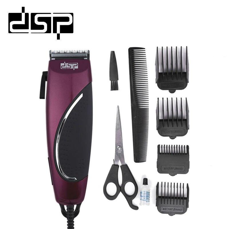 Acheter DSP De Charge Électrique Tondeuse Coupe de Cheveux De Coiffure Hommes Styling Outils Rasage Machine 220 240 V 50Hz 12 W de haircuts men fiable fournisseurs