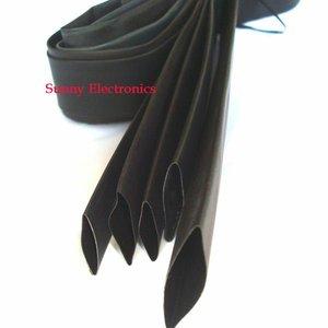 5 размер термоусадочная трубка термоусадочная черная изоляционная втулка комплект проводов 14 мм 16 мм 18 мм 20 мм 25 мм