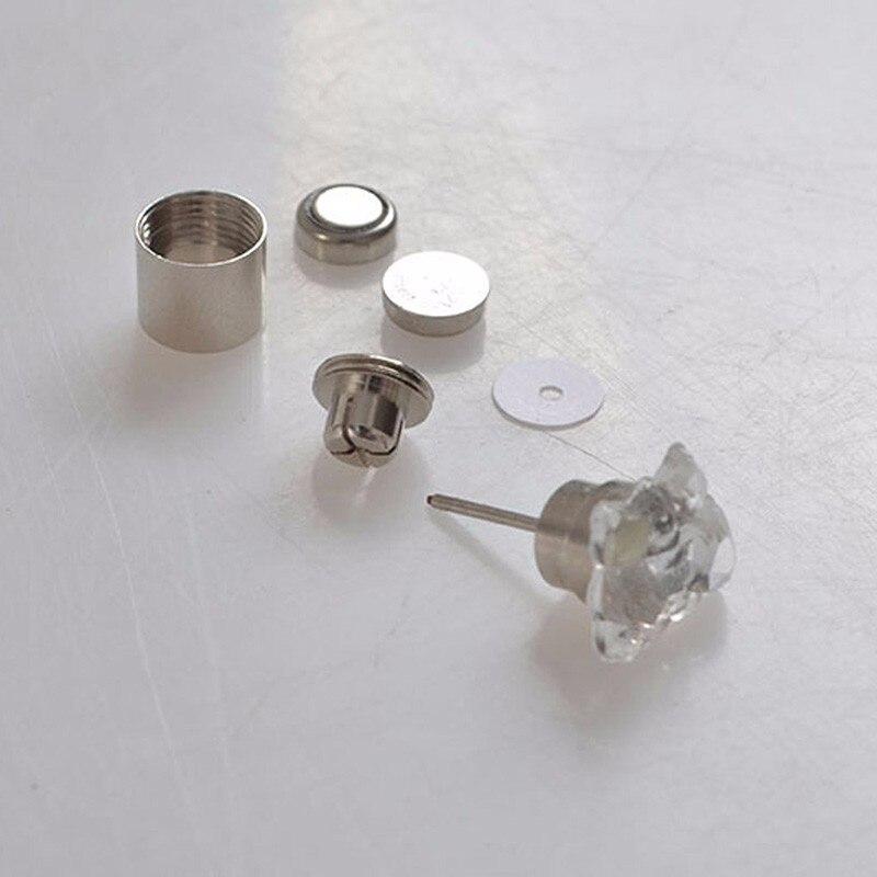 Cubic Zirconia LED Earrings