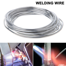 Do Promotion ! 1/2/3/5m Low Temperature Welding Rod 2mm Cored Wire Aluminum Solder Soldering Rod No Need Solder Powder