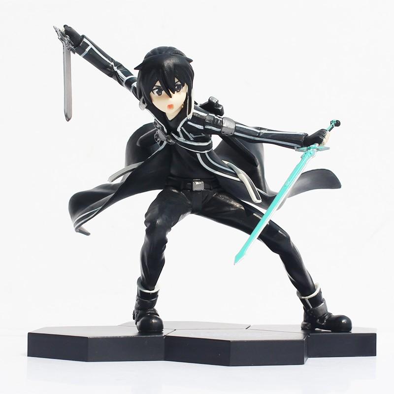 Sword Art Online Action Figure Kirito Doll 17cm