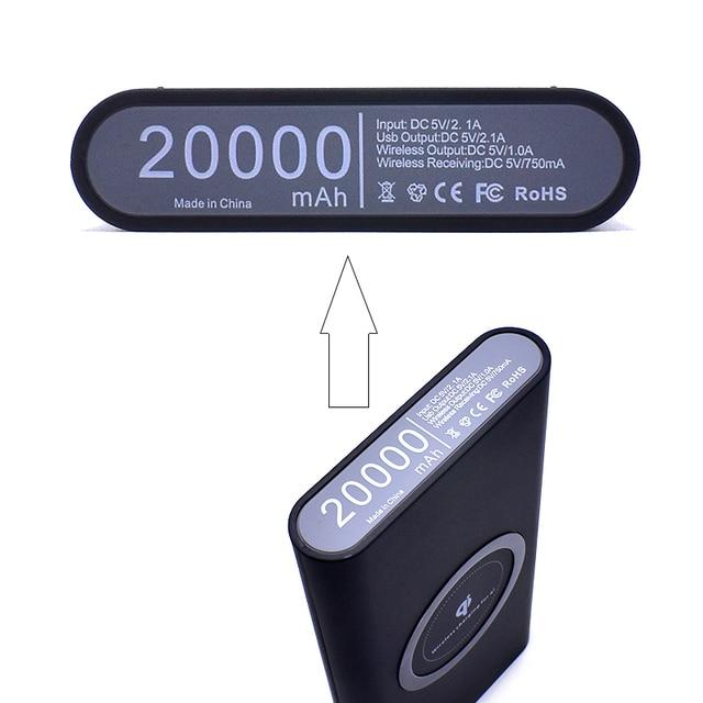 10000mAh Quick Charge Wireless Powerbank 5